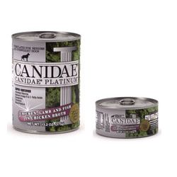Canidae Platinum Canned Singles & Trays