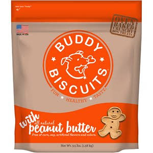 Original Oven Baked Peanut Butter Buddy Biscuits