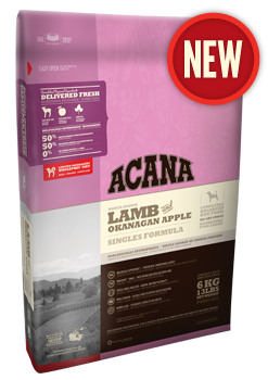 Acana Singles - Lamb & Okanagan Apple