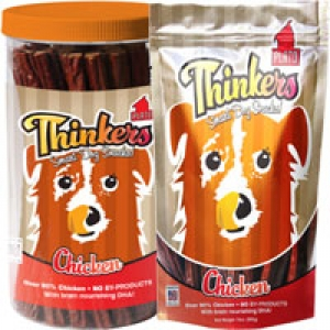 Thinkers Sticks- Salmon, Duck and Chicken Flavors