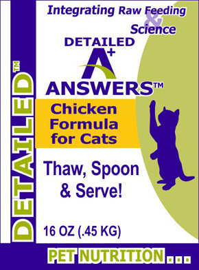 Detailed Chicken for Cats