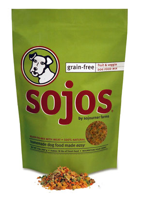 Sojos Grain Free Dog Food Mix